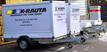 På K-rauta i Uppsala kan du låna en gratis släpvagn!