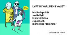Politikerutfrågning i Lund: Hur lyfter riksdagskandidaterna in världen i valet?