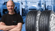 Autoexperten storsatsar på däck