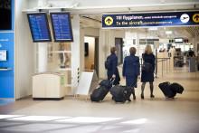 Utrikesresandet ökar på Malmö Airport
