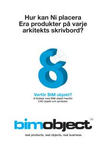 8 fördelar med BIM objekt