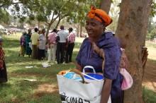 Svenska familjer hjälper familjer i Kenya