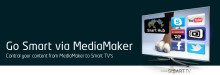 Use MediaMaker to create Smart TV apps
