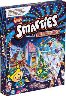 Nestlé trekker tilbake Smarties adventskalender 372 g fra Norge