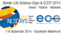 Nordic Life Science Days 7-9 september 2014 i Stockholm