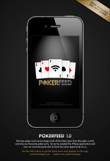 New iPhone application for poker fans launched!