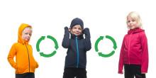 Addnature Kids Power Houdi Reuse - för att Houdinis mest älskade barnplagg ska användas mer av fler