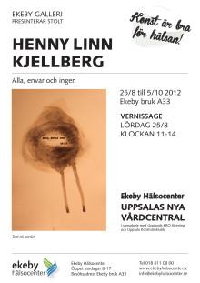 Konstutställning Henny Linn Kjellberg