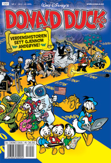 Donald Duck & Co. vekker historieglede