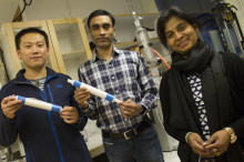 Nanofilter renar smutsig industri