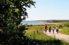 Färdiga cykelpaket för cykelturister i Halland