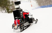 Googles Street View-snöskoter dokumenterar nu skidbackar i Sverige