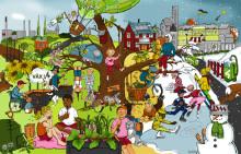 Digital julkalender ökar förståelsen för miljömålen i Växjö – Europas grönaste stad