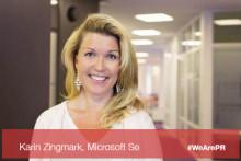 #WeArePR: Möt Microsofts CMO Karin Zingmark