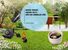Green Tenant Award - lansering av nytt miljöpris