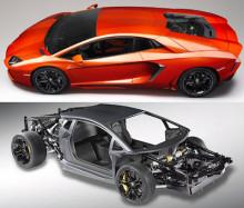 Nya Lamborghini utrustad med Lesjöforsfjädrar