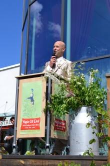 Mark Levengood invigde Emil-utställning