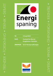 Inbjudan & Program Energispaning 2011
