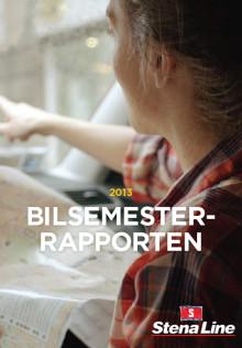 Hit åker svenskarna på bilsemester 2013