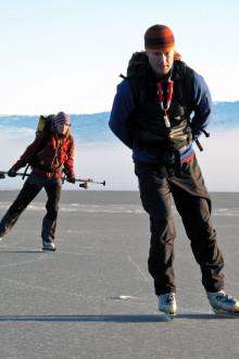 Johan Ranbrandts blogg - Skridskor på fjällsjöar