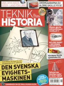Succémagasinet Teknikhistoria lanseras i butik