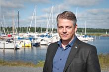 Skydd mot översvämningar i västra hamnen Lidköping