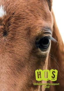 Verksamhetsrapport 2012 från Hästnäringens Ungdomssatsning