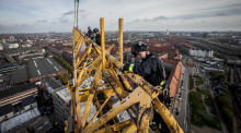 Københavns Brandvæsen afholdt redningsøvelse i Carlsberg Byen