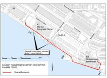 Katajanokan laivojen maasähköhankkeen sähkökaapelityöt alkavat