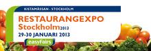 Initial Hygien- & Mattservice på RESTAURANGEXPO mässan – Kistamässan den 29-30 Januari 2013.