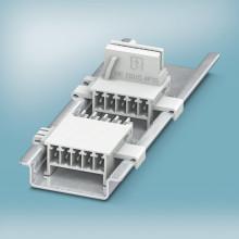 Buss kontakter för DIN-skene monterade kapslingar