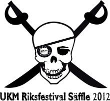 Logotyp: UKM riksfestival