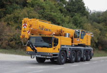 Improved safety for Mobile Cranes by Variable Supporting Base from Liebherr