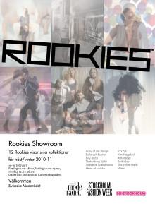 Stockholm Fashion Week visar 12 rookies