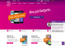 3 Sweden to reach more customers in digital world using Vergic Engage Platform