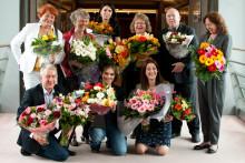 EU-parlamentet överröst med blommor