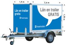 Hur stor är en släpvagn?