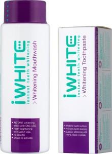3-i-1-effekt: Vitare tänder med nya iWhite Instant tandkräm och munskölj