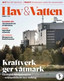 Nytt nummer av Hav & Vatten: Ekologisk kompensation – bra för naturen och industrin?