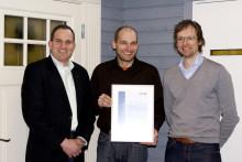 Ekstrands är först i Sverige med CE-märkta ytterdörrar.