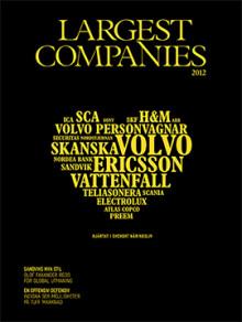 Ny utgåva av Largest Companies 2012