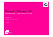 Outsourcingbarometern 2011
