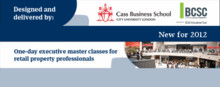 Cass / BCSC Master Class: Shopping Centre Investment and Market Analysis