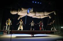 Théâtre Anfass och Jordbro VärldsOrkester gör dans- och musikteater av boken The Spirit Level