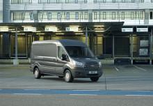 Täysin uusi Ford Transit on käyttökustannuksiltaan ja kuljetuskyvyltään luokkansa paras