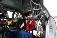 Ola Nilsson snabbast på STCC test med Team Biogas.se