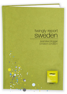 Twingly Report Sweden November 2007