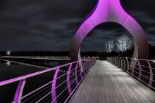 Sölvesborgsbron kan vinna Svenska Ljuspriset