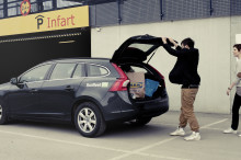 Bilpool testas på Malmö Airport