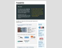 Nyhet från Byggfolio - Referensmail som matchar nya projekt och referensprojekt med en kirurgisk precision
